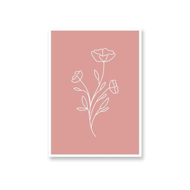 Borderless Positive Art Print on Paper (2 Sizes) - Carnation - 0