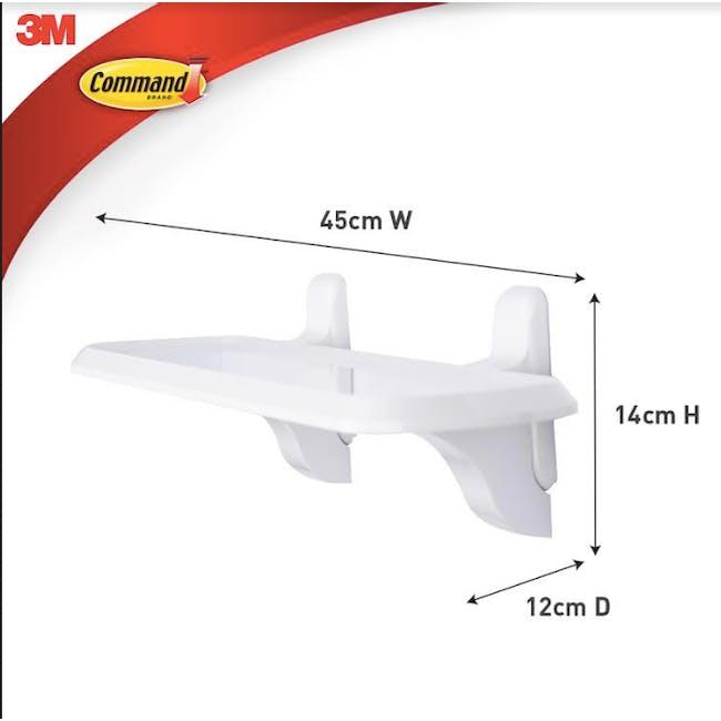 Command™ Primer Bathroom Shelf - 8