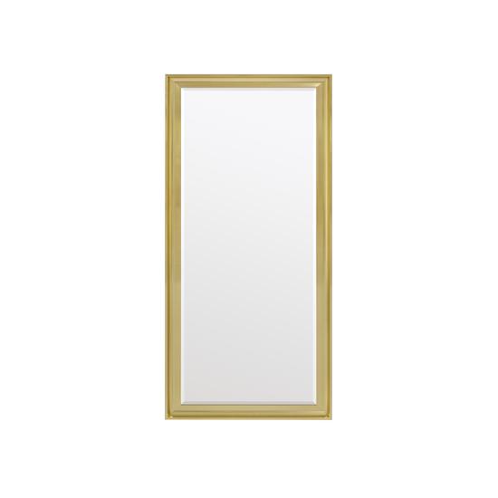 Scarlett Full Length Mirror 70 X 170 Cm Brass Vanity