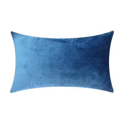 LOVE Oblong Cushion - Blue - Image 2