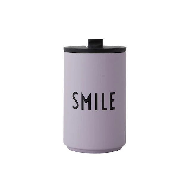 Insulated Cup - Lavender (Smile) - 0