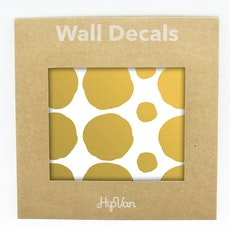 Polka Dot Wall Decals Pack (Pack of 54)  - Gold