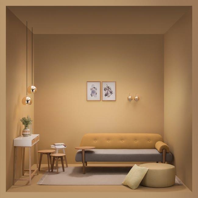 Slug Wall Lamp - Brass - Short - 2
