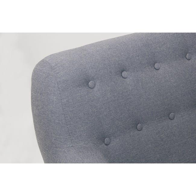 Emma 2 Seater Sofa - Dusk Blue - 5