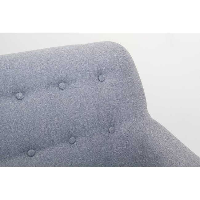 Emma 2 Seater Sofa - Dusk Blue - 6