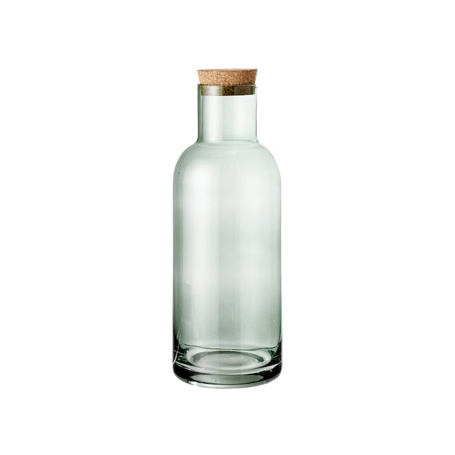 Carboy Wide Bottle with Lid - Green (Tall) - 0