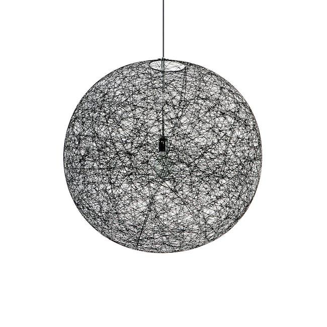 Moooi Random Pendant Light Ø50 cm - Black - 0