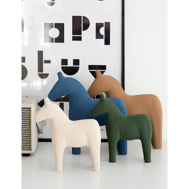Molly Wooden Pony - Brown - 2