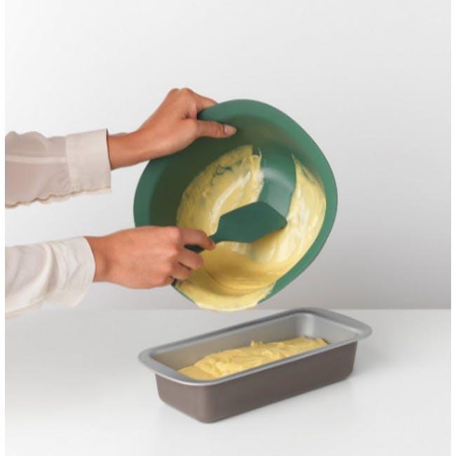 Tasty+ Silicone Baking Spatula & Scraper - Fir Green - 1
