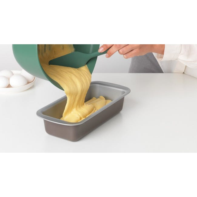Tasty+ Silicone Baking Spatula & Scraper - Fir Green - 3