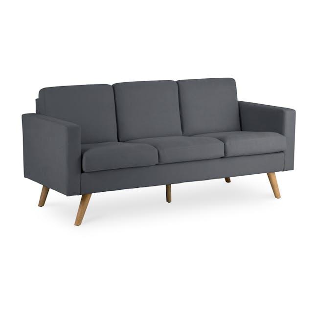 Helen 3 Seater Sofa - Hailstorm - 2
