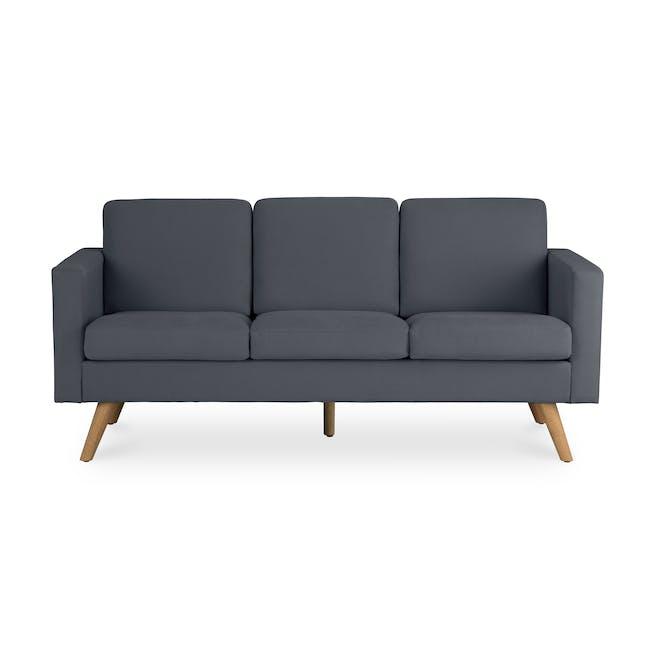 Helen 3 Seater Sofa - Hailstorm - 0