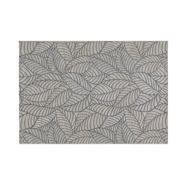 Mira Flatwoven Rug 2.9m x 2m  - Light Leaves - 0