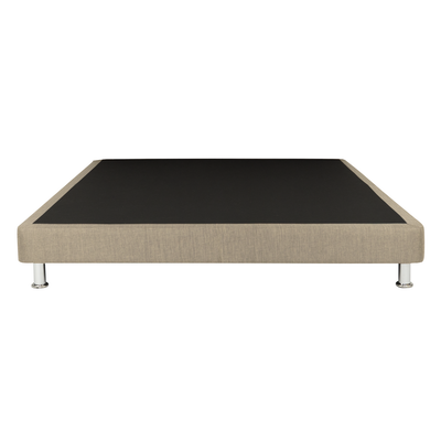 Mike Divan Bed - Sand (Fabric) - Image 1