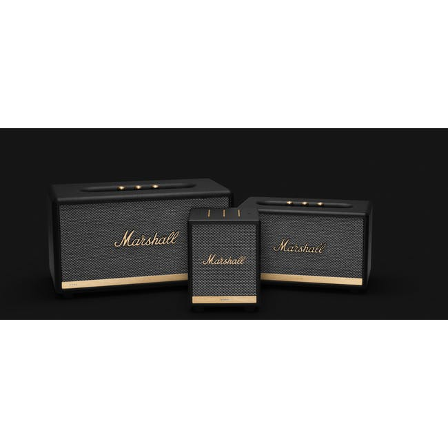 Marshall Uxbride Voice with Google Assistant - Black - 1