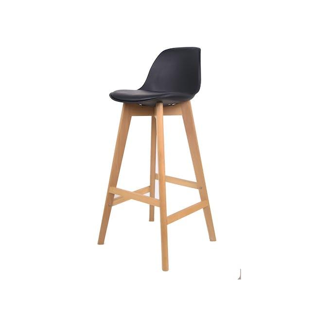 Linnett Bar Chair - Black - 0