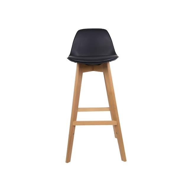 Linnett Bar Chair - Black - 3