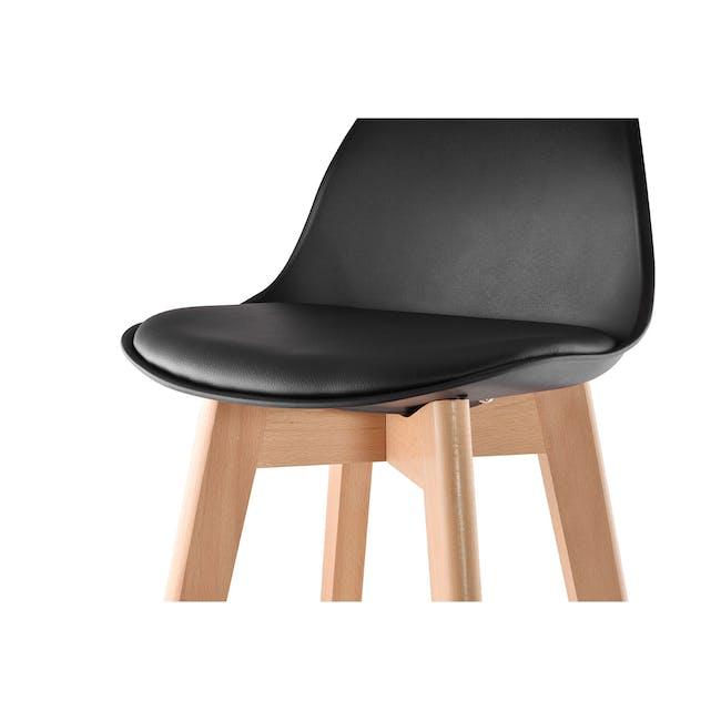 Linnett Bar Chair - Black - 1
