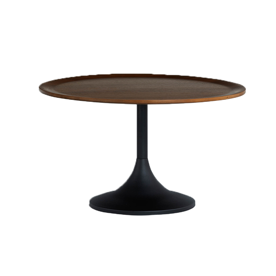 Helga - Pablo Round Coffee Table - Walnut