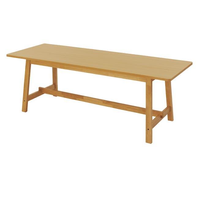 Haynes Table 2.2m - Oak - 0