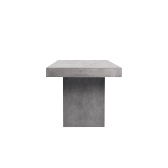 Concrete Furniture by HipVan - Ryland Square Concrete Coffee Table