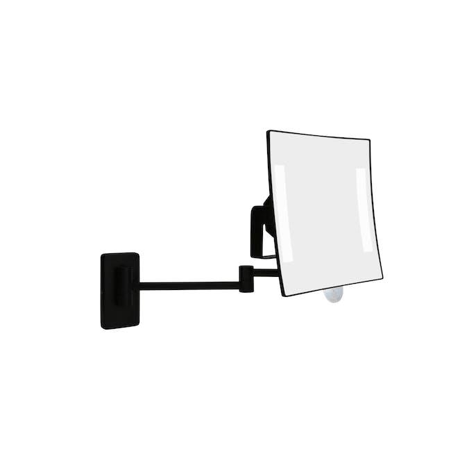 JVD Galaxy Wall-Mount Mirror (3X Magnification) - Black - 0