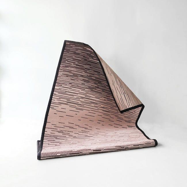 Dawn Medium Reversible Mat 2.4m x 1.5m - Brown & Pink - 3