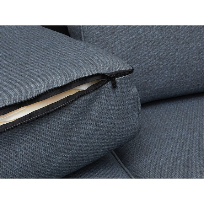 Carter 3 Seater Sofa - Space Blue - 6