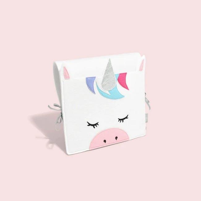 Little Stackers Bed Pocket - Lola Unicorn - 2