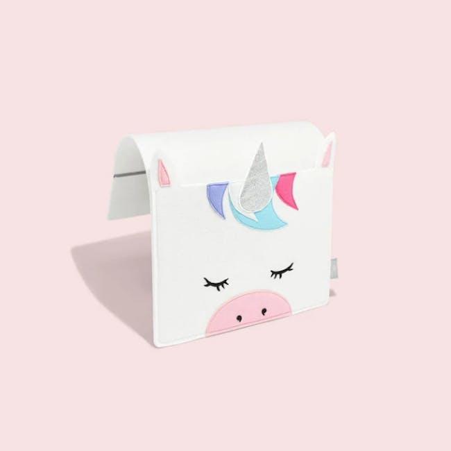 Little Stackers Bed Pocket - Lola Unicorn - 3