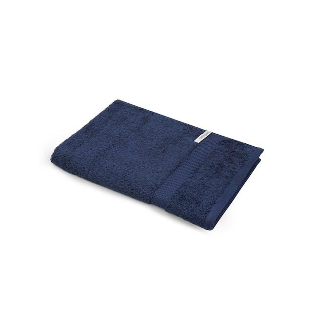 Canningvale Royal Splendour Hand Towel - Mezzanote Blue - 0