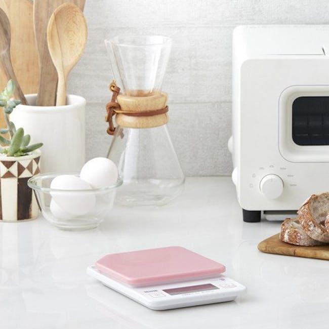 Tanita Digital Kitchen Scale with Hanging Hook - Pink - 3