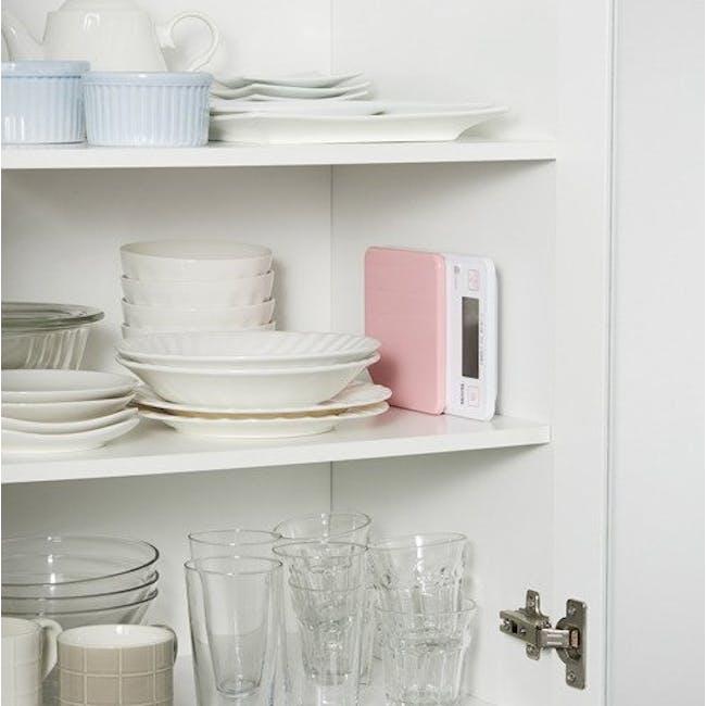 Tanita Digital Kitchen Scale with Hanging Hook - Pink - 1
