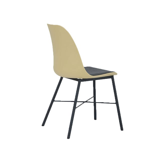 Denver Dining Chair - Dusty Yellow - 2