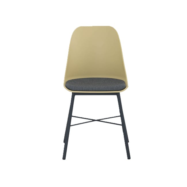 Denver Dining Chair - Dusty Yellow - 1