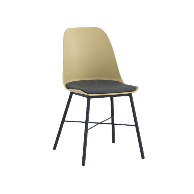 Denver Dining Chair - Dusty Yellow - 3