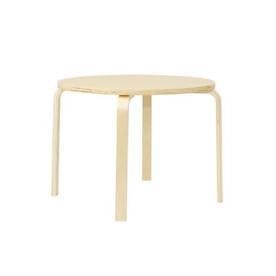 Mizuki Coffee Table with Mizuki Round Side Table with Wheels - Image 2