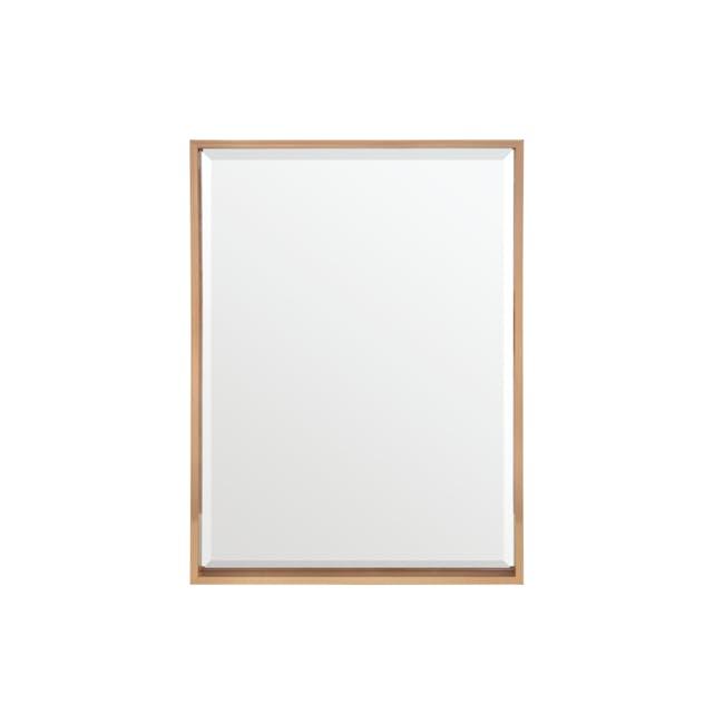 Julia Half-Length Mirror 60 x 80 cm - Rose Gold - 0