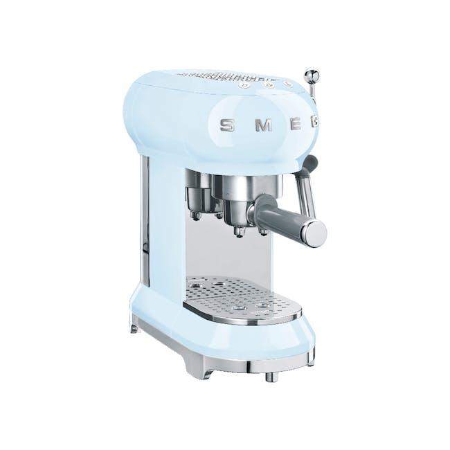 Smeg Espresso Coffee Machine - Pastel Blue - 0