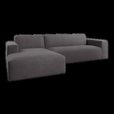 Adam L Shape Sofa - Granite - Image 2
