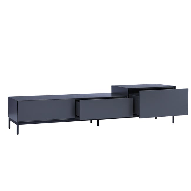 Lamont TV Cabinet 1.8m - Grey - 1