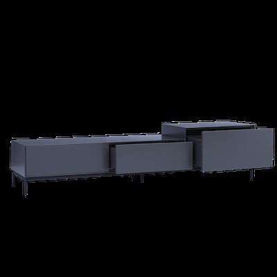 Lamont TV Cabinet 1.8m - Grey - Image 2