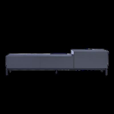Lamont TV Cabinet 1.8m - Grey - Image 1