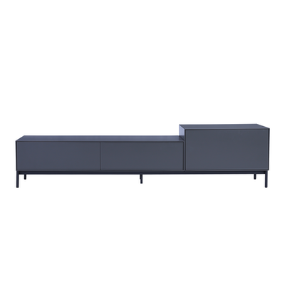 TV Console & Shelves on Display at HipVan\'s Experience Store