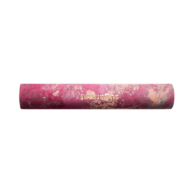 Sugarmat Dream Catcher No.3 Red - Suede Yoga Mat (3MM) - 2