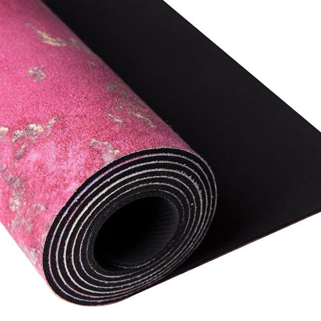 Sugarmat Dream Catcher No.3 Red - Suede Yoga Mat (3MM) - 4