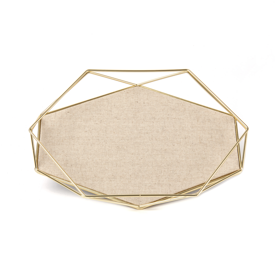 Umbra - Prisma Jewelry Tray - Matte Brass