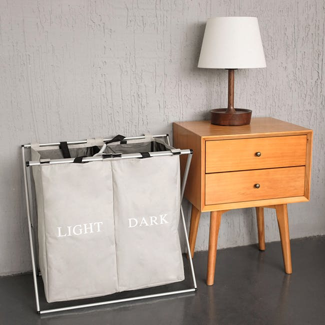 Jayden Laundry Hamper with Stand - 4