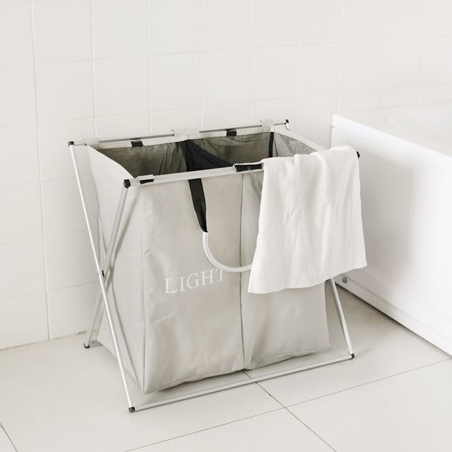 Jayden Laundry Hamper with Stand - 2