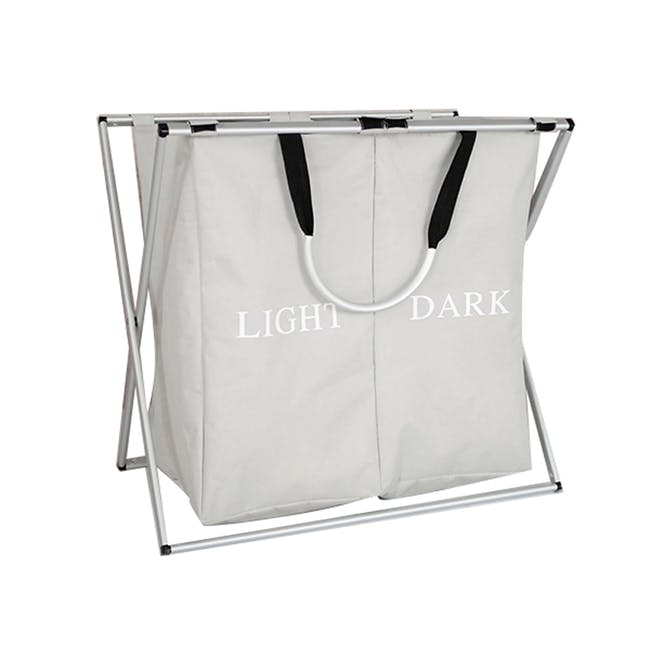 Jayden Laundry Hamper with Stand - 0